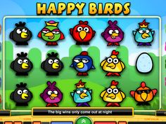 Games To Play Now, Free Slots, Slot Machine, Birds, Happy, Bird, Ser Feliz, Happiness