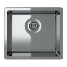BREDSKÄR Single-bowl inset sink IKEA Sink in stainless steel; hygienic, durable, resistant and easy to clean.