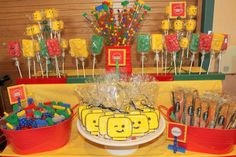 Lego Birthday Party Ideas   Photo 8 of 29   Catch My Party