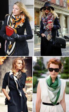dicas para usar os lenços de diferentes maneiras com muito estilo