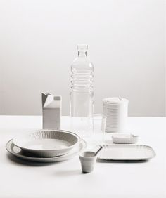The china from Aesthetic - maybe buy a couple serving pieces?