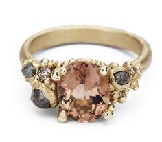 ruth tomlinson tourmaline and diamond ring