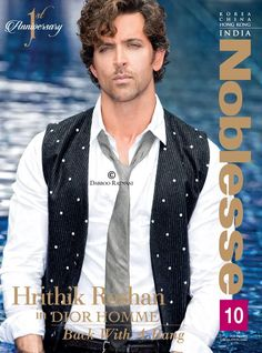 Back with a Bang: Hrithik Roshan covers Noblesse India | PINKVILLA