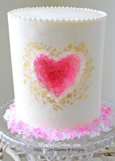 Geode Cake Blue-Eyed Bakery | Cake Decorating | Pinterest | Geode ...