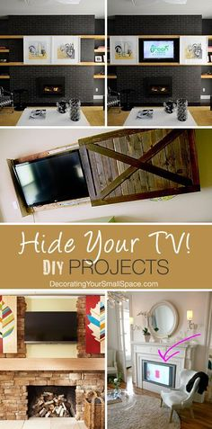 DIY decorative ways to conceal your counsel