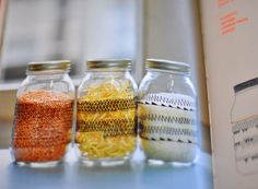 idea for decorated jars | in artist abbey hendrickson's new book 'you are awesome: 21 crafts to make you happy'