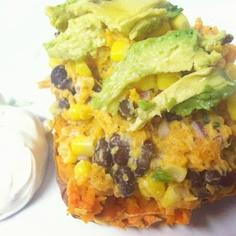 Taste and See: Southwestern Stuffed Sweet Potatoes