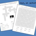 These fun activities can be used to help students learn about and review facts relating to Martin Luther King, Jr.  The first activity is a cro...