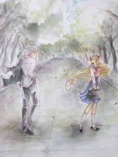 Sailor Moon by Sana Sailor Venus and Kunzite