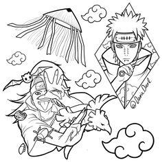 Naruto Tattoo, Avatar Tattoo, Anime Tattoos, Naruto Drawings, Naruto Art, Anime Naruto, Dream Tattoos, Cute Tattoos, Easy Drawings