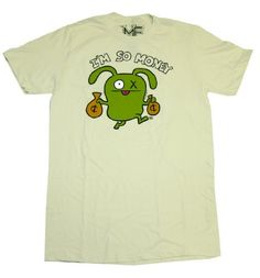 Uglydolls Ox So Money Funny T-Shirt Tee #uglydoll