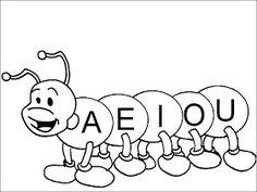 Lindos Dibujos Para Preescolar Para Colorear Vocales