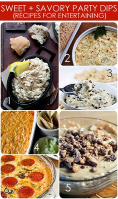 PARTY DIP RECIPES