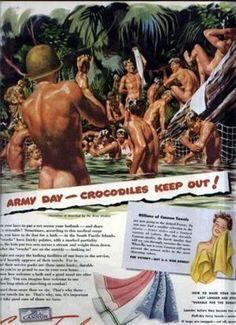 vintage canon towel ad gay | Towel_ad