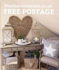 Well here we are.I'm so looking forward to it.We are offering free postage off all orders over ( UK mainland ) until midnight on the August. Just enter POST at checkout.right off for a prosecco will catch up with y Coastal Living Rooms, Home And Living, Living Room Decor, Living Spaces, Sofa Table Decor, Style At Home, Love Your Home, Home Staging, Decoration