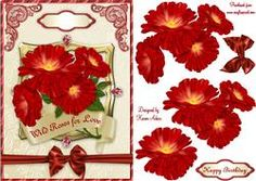 Wild Red Roses