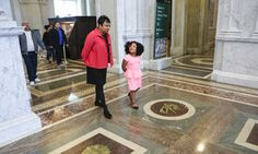 """Four-year-old Daliyah Marie Arana has already read more than books in her young life. A dream came true at the Library of Congress where she was """"librarian for the day. 4 Year Old Girl, Four Year Old, Library Of Congress, 1000 Books Before Kindergarten, Gainesville Georgia, Georgia Girls, Thing 1, Young Life, I Have A Dream"""