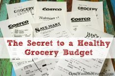 The Secret to a Healthy Grocery Budget: Keeping Your Receipts | The Nourishing Home