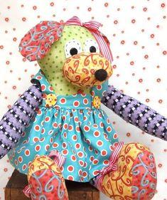 Teddy Bear Apron Sewing Pattern