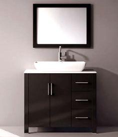 36 inch single vanity cabinet