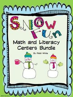 3 math and 3 literacy centers