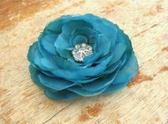 Turquoise Ranunculus Flower