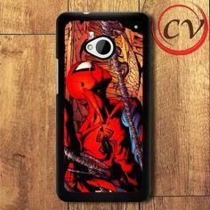 Spiderman HTC One M7 Black Case