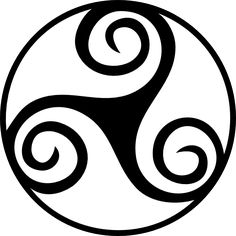Free Printable Celtic Stencil Patterns | Celtic Triskell clip art - vector clip art online, royalty free ...