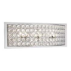 Shop Kichler Lighting 3 Light Krystal Ice Chrome Crystal Bathroom