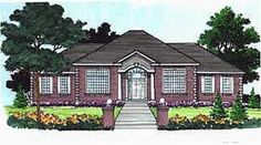 Colonial House Plan 70508 Elevation