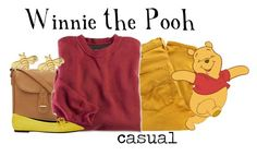 """Winnie the Pooh"" by hp4ever15 ❤ liked on Polyvore featuring Nobody Denim, Balenciaga and Sydney Evan"