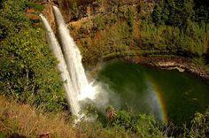 Waimea Canyon Kokee State Park Wailua Falls Kauai , Hawaii