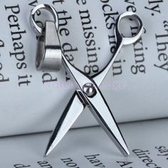 Punk-Steel-Scissors-Hairdressing-Charm-Pendant-Dangle-Jewelry-Findings-DIY-Xmas