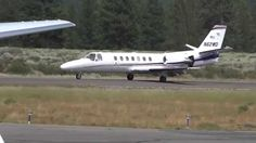 Video. Truckee Airport Cessna Citation N62WD 2015