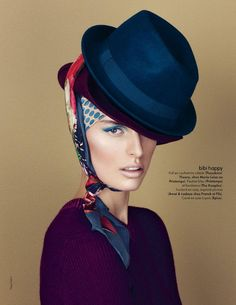 karolina kurkova5 Karolina Kurkova by Nagi Sakai for Elle France