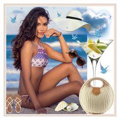 """""""Bikini-"""" by amira-1-1 ❤ liked on Polyvore featuring LSA International, Pilot and Billabong"""