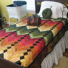 French Braid Quilt....Love the colors and wonderful to cuddle with in front of a fire or Netflix!