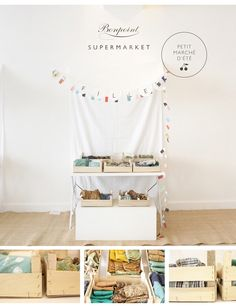Petit marché d'été (Bonpoint)Idées deco