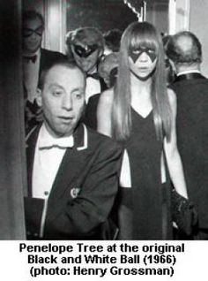 Penelope Tree at Truman Capote's Black And White Ball