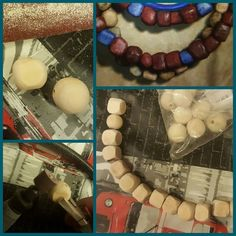 And if you don't find the perfect shape... DO IT BY YOURSELF!  I've looked everywhere but I was not able to find similar wood pearl for the necklace. So I decide to make it!  I can't wait to wear my Aloy costume from Horizon Zero Dawn!   E se non trovi le forme perfette.... FALLE TU! Sono impazzita e ho cercato dappertutto ma non sono riuscita a trovare nulla che mi soddisfacesse quindi ho deciso di ricrearmele da sola :)