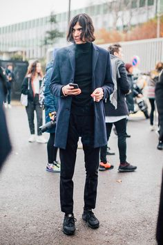 Fashion Week homme Street looks Paris automne hiver 2016 2017 131