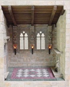 Dollhouse Miniatures : Marble floor  Share, Repin, Comment - Thanks!