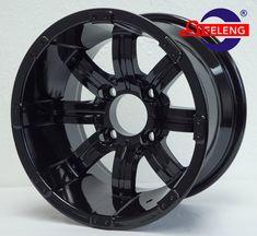 DSC09622_LOGO Golf Cart Wheels, Golf Carts, Black Steel Wheels, Black Vampire, Black Spider, Alloy Wheel, Aluminium Alloy, Logo, Logos