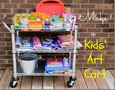 How To Display And Organize Kids Art – 16 Ideas