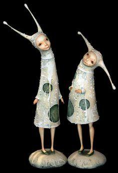 Иринa Горюновa - by Irina Goriunova. Nice idea for hands on stump doll
