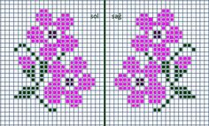 1 million+ Stunning Free Images to Use Anywhere Tiny Cross Stitch, Cross Stitch Borders, Cross Stitch Flowers, Cross Stitch Charts, Cross Stitch Designs, Cross Stitching, Cross Stitch Embroidery, Embroidery Patterns, Cross Stitch Patterns