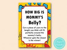 TLC147-how-big-is-mommys-belly-superhero-baby-shower-games-batman-superman
