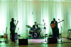 Sweetgrass Social wedding at Alhambra Hall. Erika & Sergio. Band for the wedding reception.