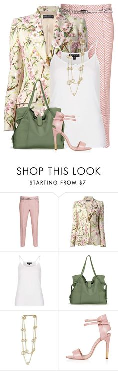 """Pink & Green"" by meltog ❤ liked on Polyvore featuring THOMAS RATH, Dolce&Gabbana, Topshop, Splendid and NEXTE Jewelry"