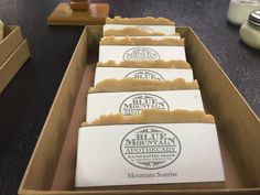 Mountain Sunrise Goat Milk Bar by bluemntapothecary on Etsy All Natural Skin Care, Blue Mountain, Goat Milk, Apothecary, Goats, Sunrise, Bar, Friends, Etsy